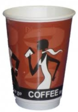 Doppelwandbecher 400ml Coffee Grabbers 500 Becher
