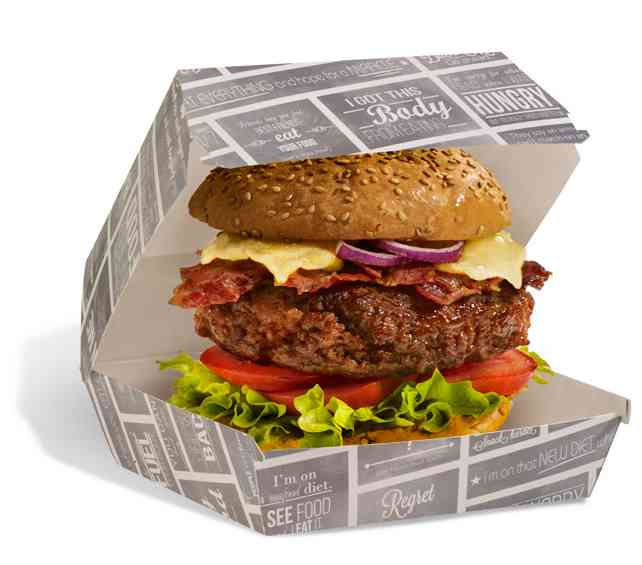 Burger-Box S Kreide-Serie